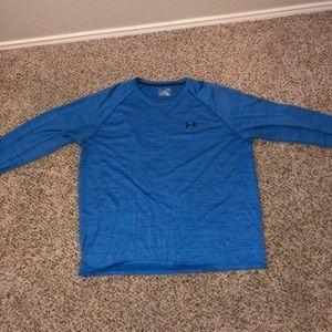 Blue Under Armour long sleeve shirt